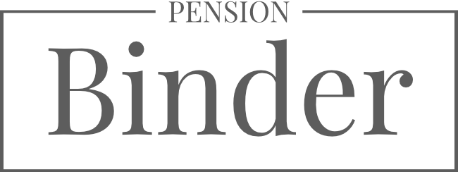 Pension Binder